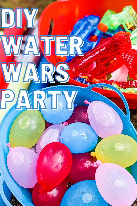 DIY Water Wars Party