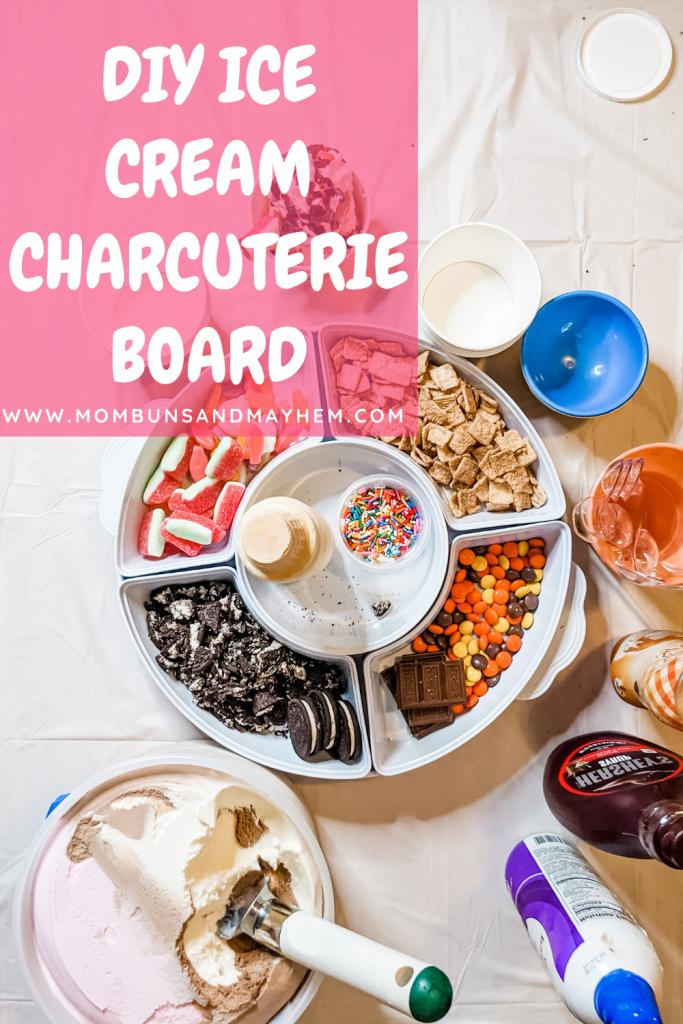 Ice Cream Charcuterie Board