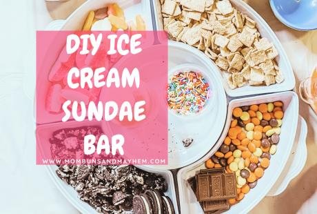 Ice Cream Sundae Bar