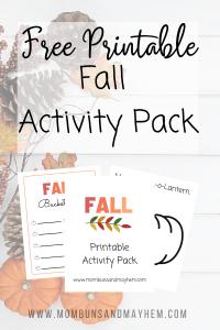 Printable Fall Activity Kit